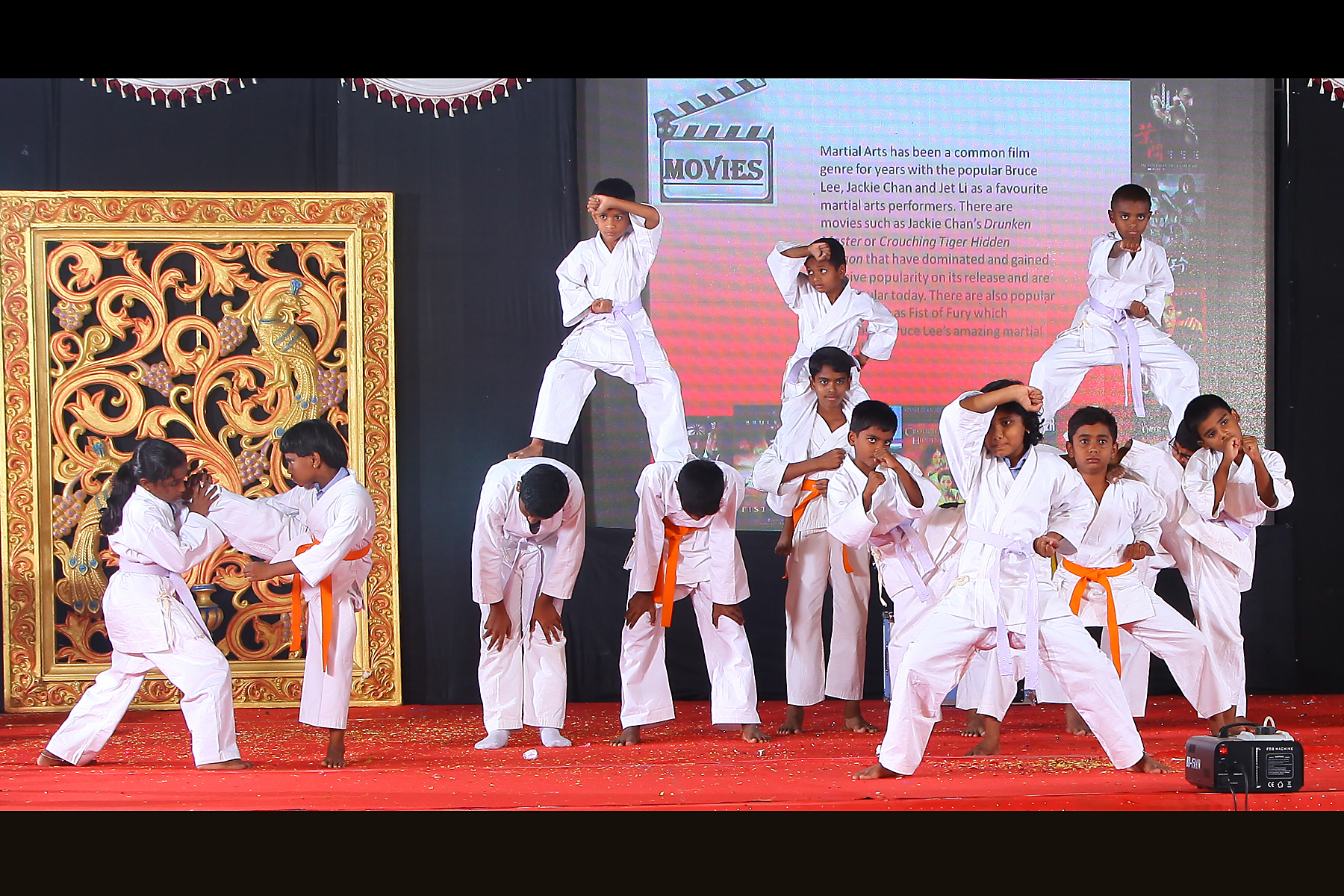 Annual Day'17-Karate Performance | Sathyam International School